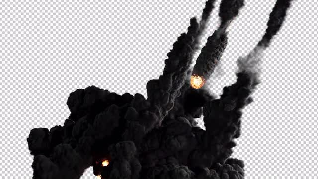 Meteors: Stock Motion Graphics
