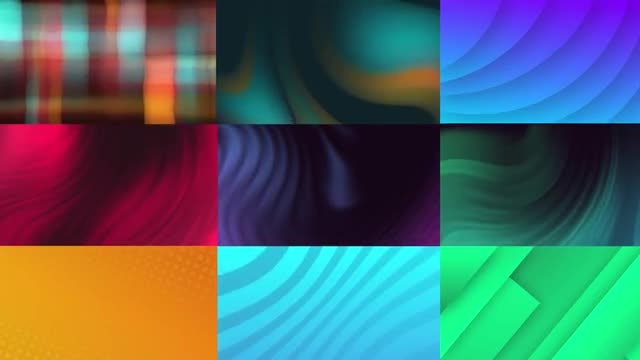 Stylish Animated Backgrounds: After Effects Templates