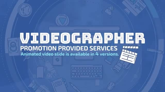 Videographer Promo: Stock Motion Graphics