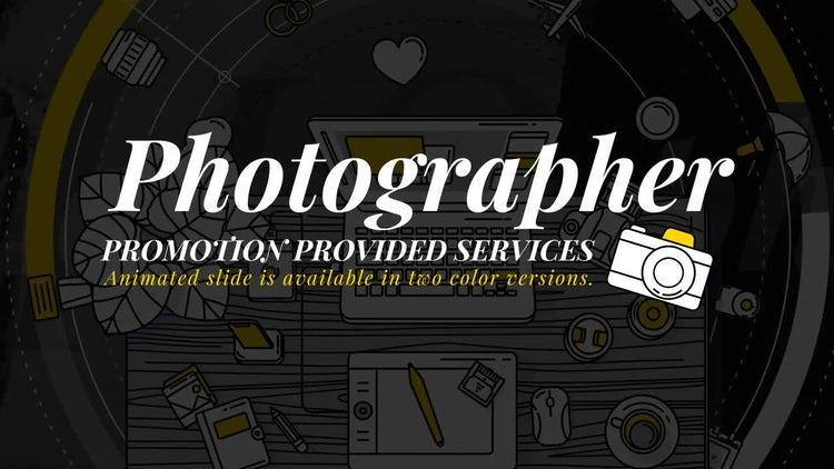 Photographer Promo: Stock Motion Graphics