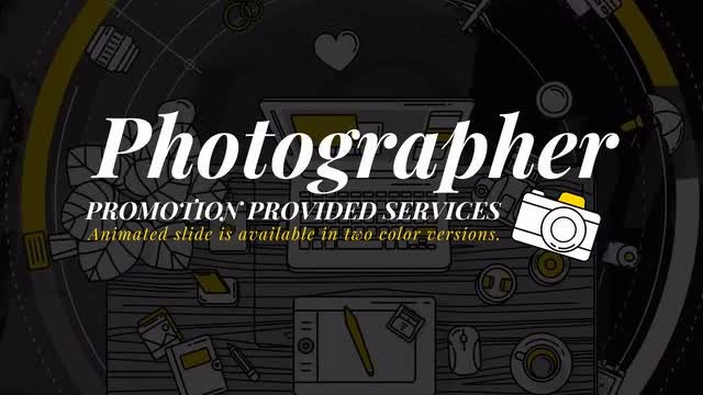 Photographer Promo: Stock Motion Graphics