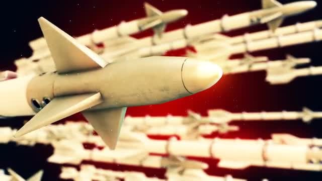 Missiles: Stock Motion Graphics