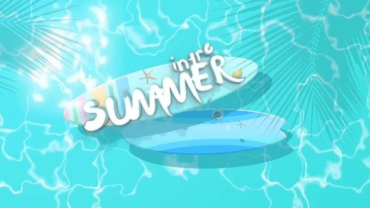 Summer Intro: After Effects Templates