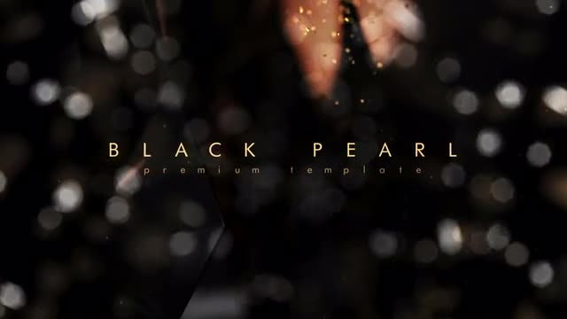 Black Pearl: After Effects Templates