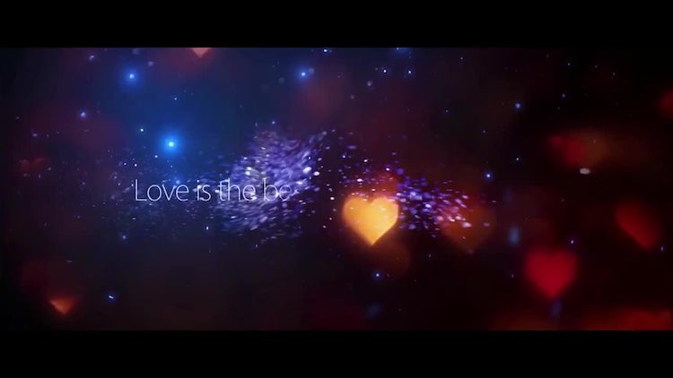 Lovely Bokeh Opener: After Effects Templates