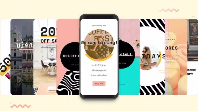 Instagram Stories: Showy Pack V1: After Effects Templates