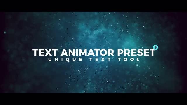 Text Animator Preset V3: Premiere Pro Presets