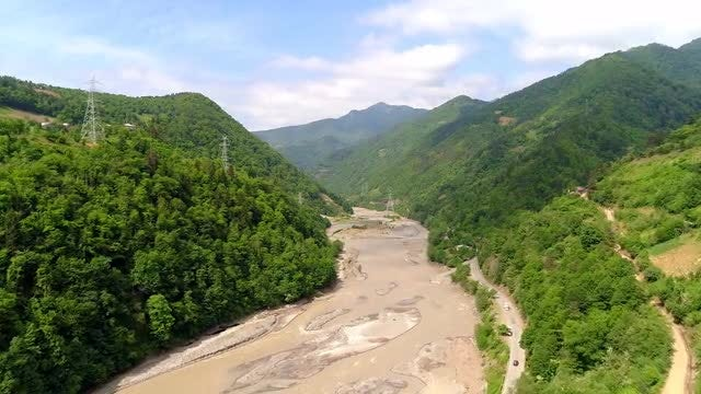 Muddy Mountain River: Stock Video