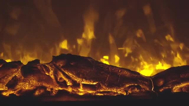 Electric Fireplace: Stock Video