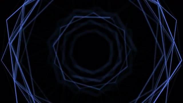 Hexagon Plexus: Stock Motion Graphics