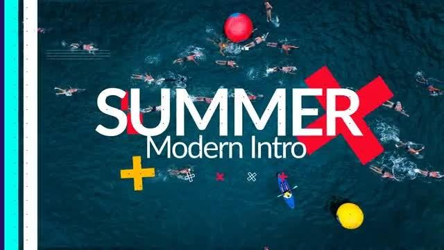 Modern Summer Opener: After Effects Templates