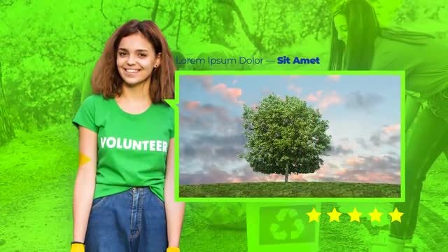Eco - Ecology Presentation: After Effects Templates