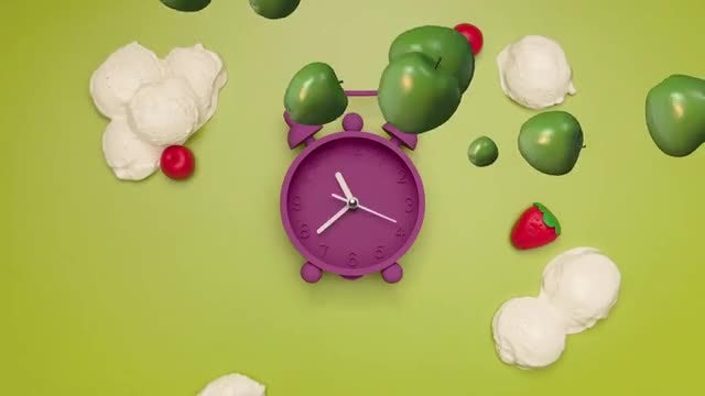 5 Fruit Transitions: Stock Motion Graphics