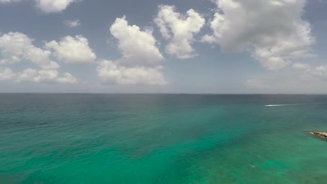 Flying Over The Beach: Stock Video