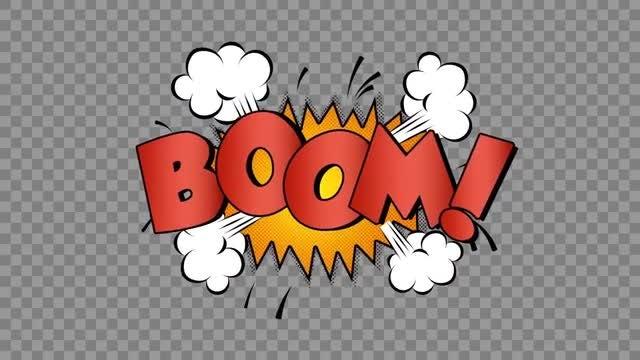 Bounce Cartoon Texts: Stock Motion Graphics