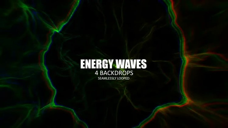 Energy Waves: Stock Motion Graphics