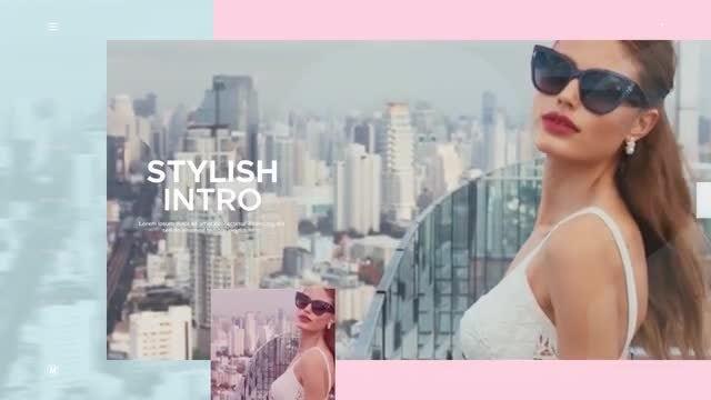 Modern Fashion Intro: Premiere Pro Templates