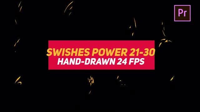 Liquid Elements Swishes Power 21-30: Motion Graphics Templates