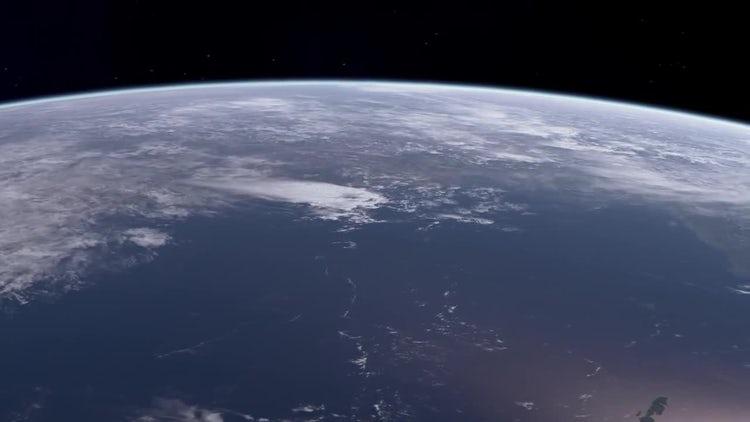 Earth Orbit: Motion Graphics