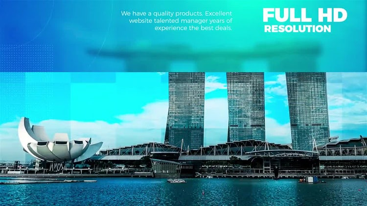 Bussines Slideshow: After Effects Templates