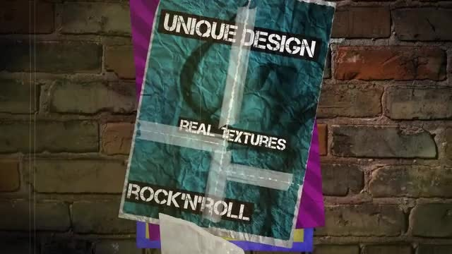 Grunge Posters: After Effects Templates