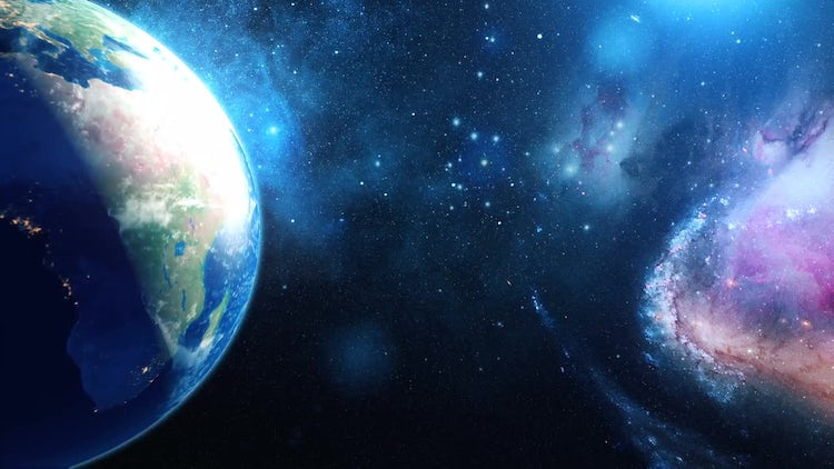 Realistic Planet Earth: Motion Graphics