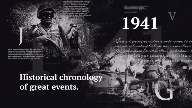 History Timeline. Historical Chronology.: Premiere Pro Templates