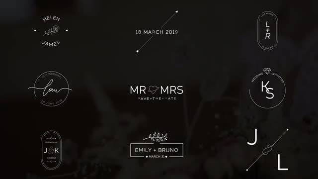 Wedding Titles V. 3: After Effects Templates