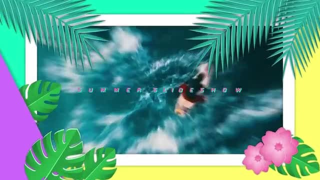 Tropical Slideshow: After Effects Templates