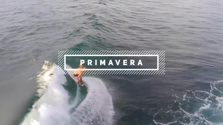 Primavera Sound: After Effects Templates
