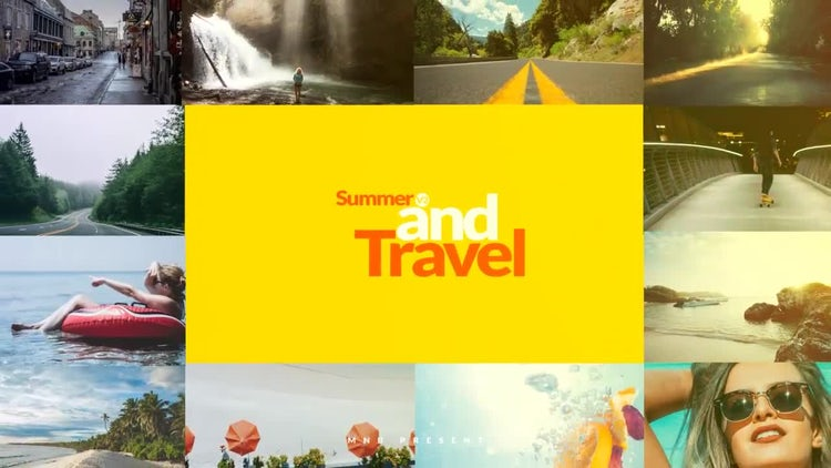 Summer And Travel Opener: After Effects Templates