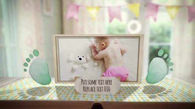 Baby Pop-up Photo Album: After Effects Templates