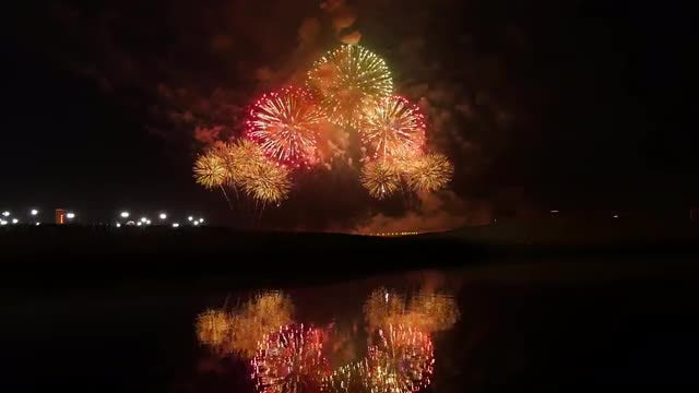 Fireworks Show: Stock Video
