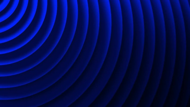 Blue Ripples: Stock Motion Graphics