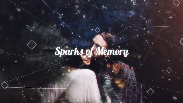 Sparks of Memory: After Effects Templates
