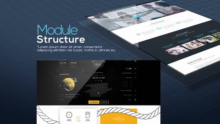 Website Showcase: After Effects Templates