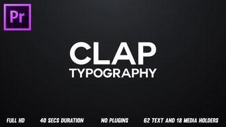 Rhythmic Typography Opener: Premiere Pro Templates