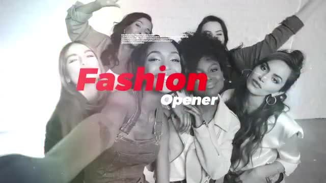 Fashion Show Opener: After Effects Templates