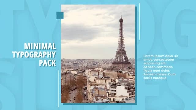 Dynamic Typo Slides: After Effects Templates