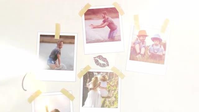 Slideshow Photo Collage: Premiere Pro Templates