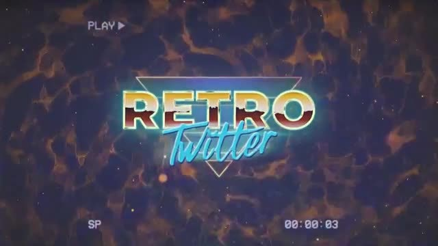 Retro Wave Intro 4: Motion Graphics Templates
