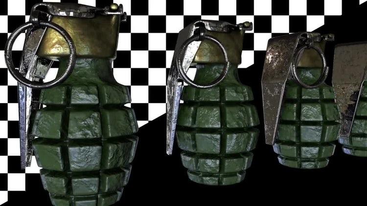 Grenades Loop: Motion Graphics