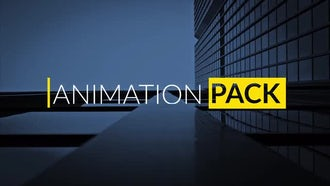 Minimal Title Animations Pack: After Effects Templates