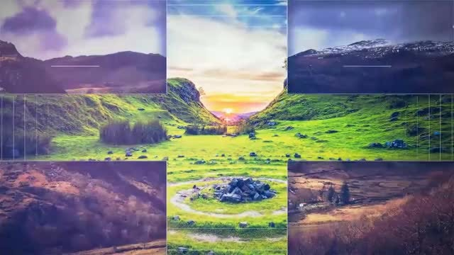 Geometric Slideshow: After Effects Templates