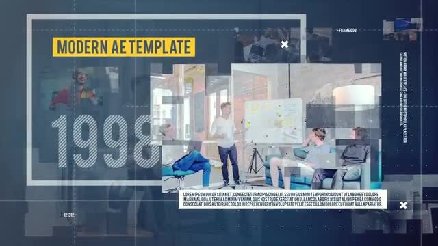 Business Timeline Promo: After Effects Templates