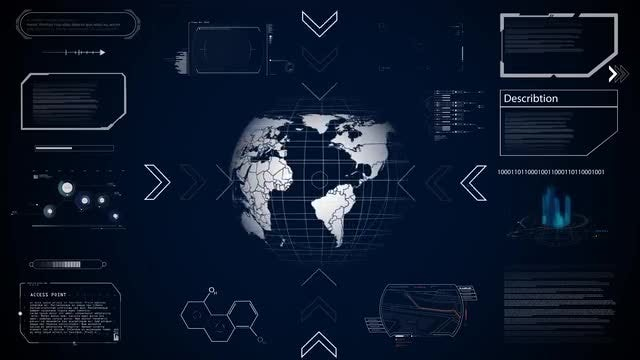 World And Technology: Stock Motion Graphics