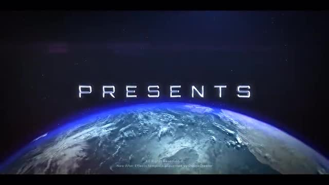Space Teaser: After Effects Templates