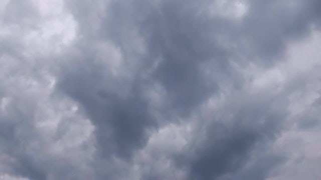 Dark Clouds Time-Lapse: Stock Video