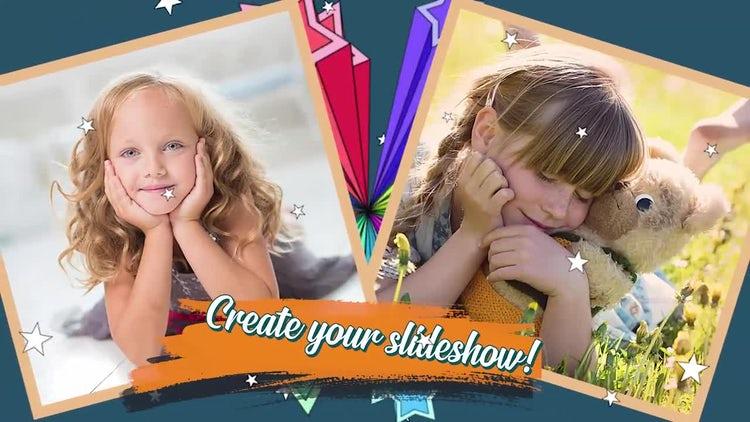 Kids Slide: Premiere Pro Templates