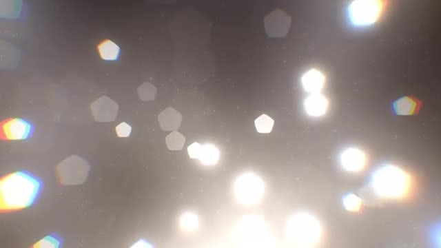 Bokeh Shapes: Stock Motion Graphics